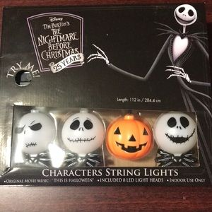 Nightmare Before Christmas String Lights